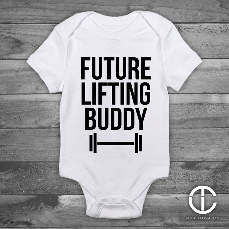 Future Lifting Buddy - Baby Funny Onesie, Handmade Baby Gift, Handmade Birth Homecoming Baby Shower Gift, Boy or Girl, Gender Reveal by mycustomtees on Etsy