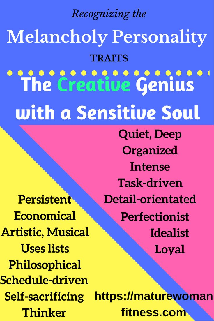 Traits of the amazing, often overlooked Melancholy personality.