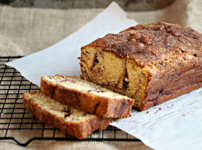 Hungry Couple: Sweet Cinnamon Bread Ingredients 1 Egg 1 Cup sugar 1 Stick unsalted butter, at room temperature 1 Teaspoon vanilla 1 Cup buttermilk 2 Cups all purpose flour 1 Teaspoon baking soda 1/2 Teaspoon salt 1/4 Cup light brown sugar 2 Tablespoons cinnamon