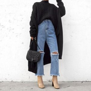 Layering: @thegoven cardigan @forever21 boots #sponsored @moda_luxe bag #goven #modaluxe #forever21 #f21xme