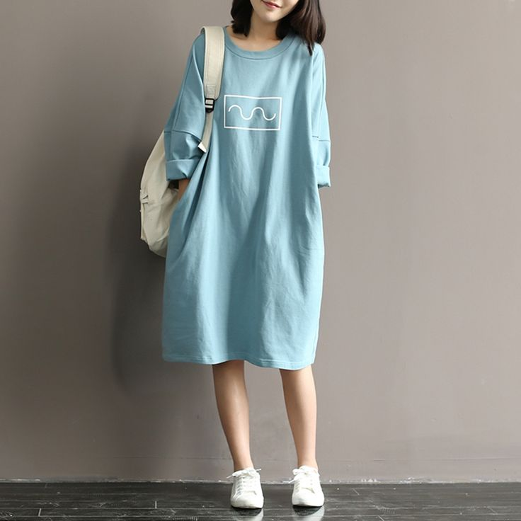 ==>Discount2016 New Summer Women Dress Mori Girl Loose O-Neck Batwing Sleeve Cotton Casual T-shirt Dress Long Style Plus Size Vestido2016 New Summer Women Dress Mori Girl Loose O-Neck Batwing Sleeve Cotton Casual T-shirt Dress Long Style Plus Size VestidoSmart Deals for...Cleck Hot Deals >>> http://id702965481.cloudns.pointto.us/32647637936.html images
