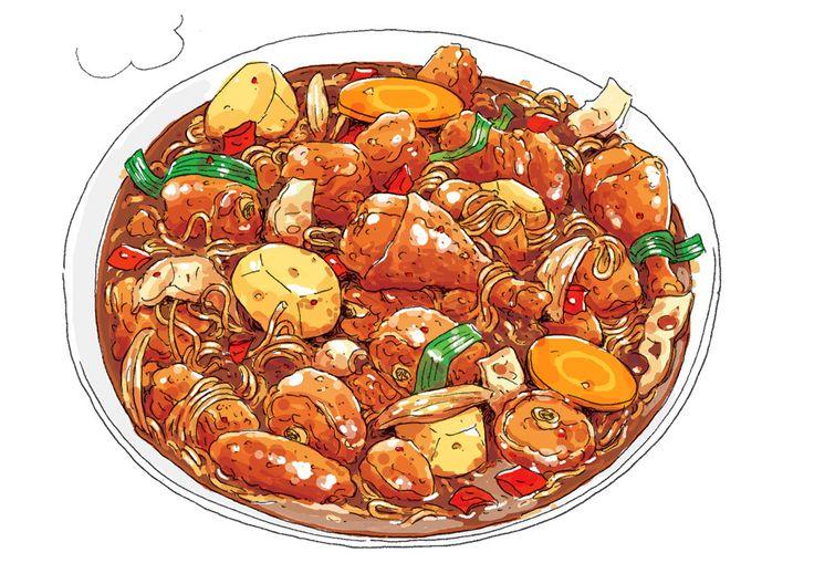 Food porn from Omurice Jamjam by Cho Kyung Kyu