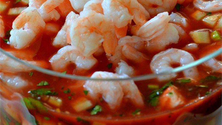 Original Mexican Shrimp Cocktail