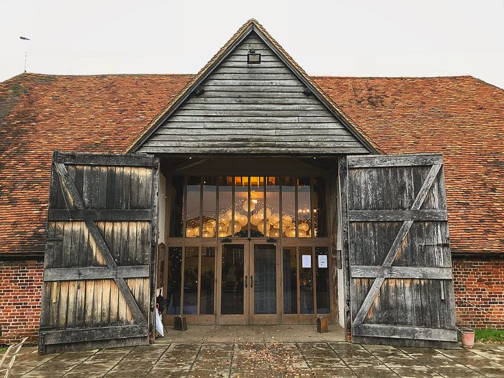 The gorgeous venue, Ufton Court  .  .  .  #weddingvenue #wedding #gaywedding #gayweddingvenue #uftoncourt #reading #beautiful #love #barn #autumn #loveislove