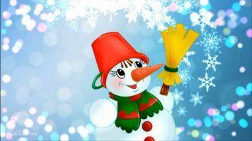 Детский клип - Снеговик