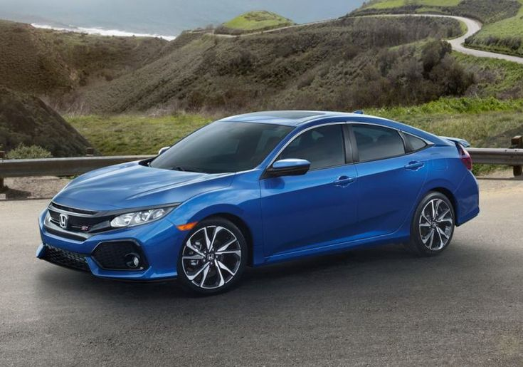 directed-injected in-line 4-cylinder with the displacement of 1.5 liters and with the dual variable cam timing...starting 2017 Honda Civic Si Sedan price...  #2017HondaCivicSiSedan