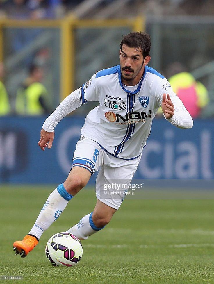 Riccardo Saponara of Empoli during the Serie A match between Atalanta BC and Empoli FC at Stadio Atleti Azzurri d'Italia on April 26, 2015 in Bergamo, Italy.