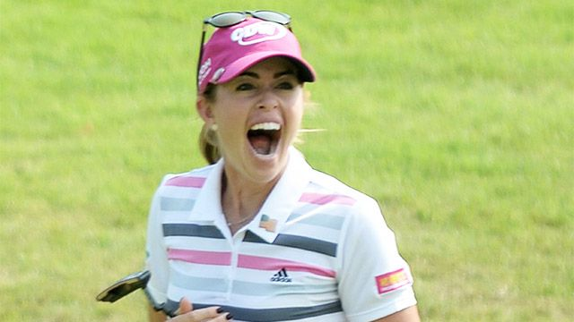 Paula Creamer | Paula Creamer wins HSBC Women's Champions playoff with eagle putt