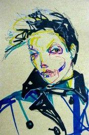 "BLUE SKULL"" DRAWING by TriHakki (Me)"