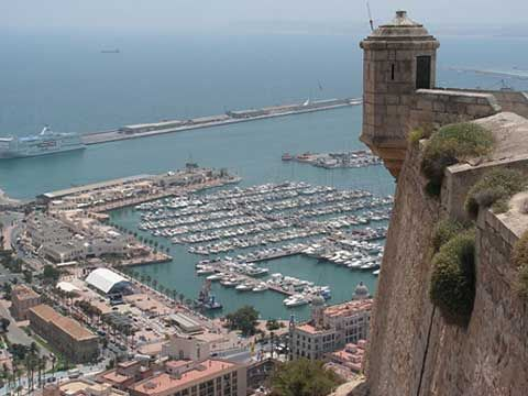 Where I lived ... Alicante