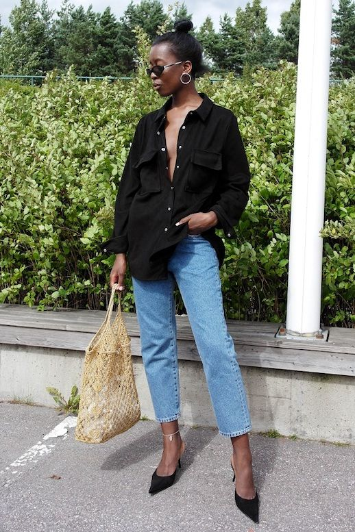 The Coolest Way to Wear a Suede Shirt
