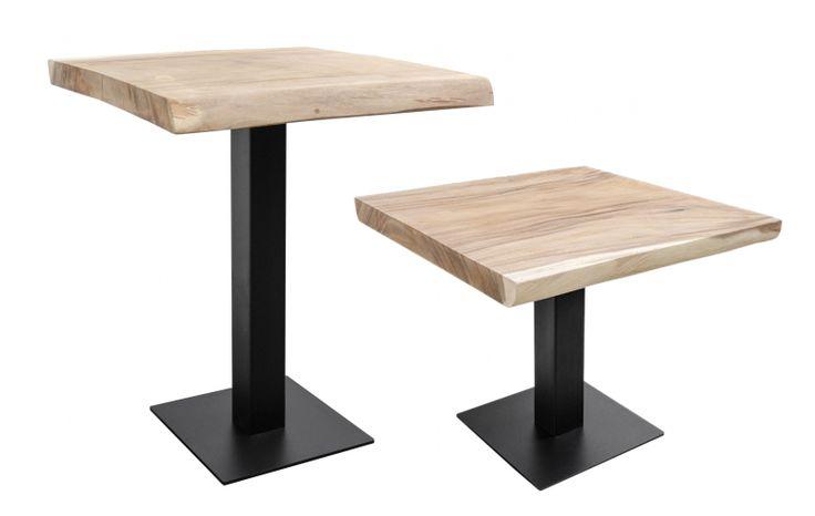 Bartisch & Esstisch Industriedesign Bistro Esstisch Holz
