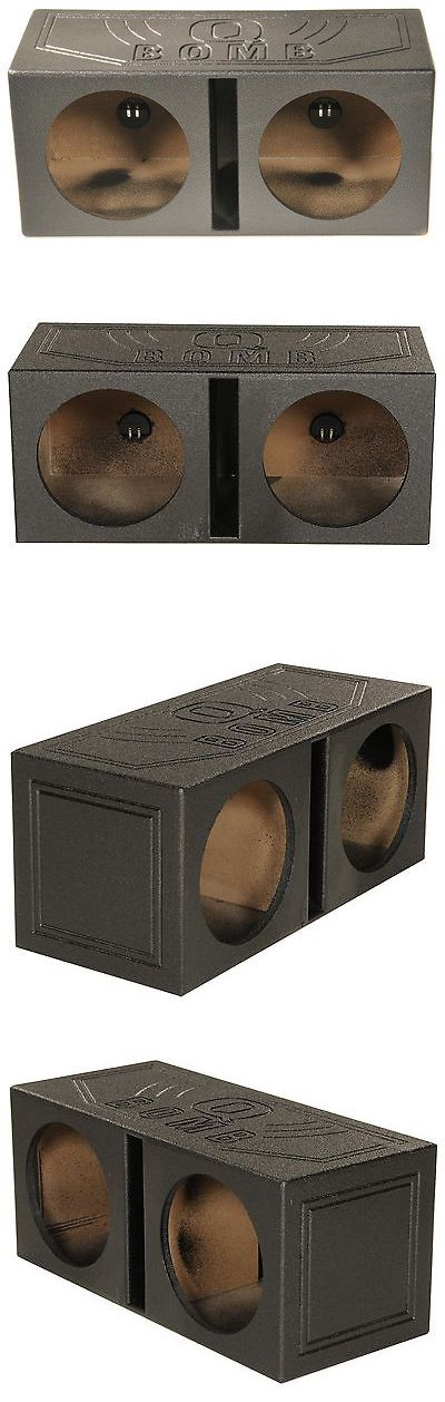 Speaker Sub Enclosures: New! Q-Power Qbomb15v Dual 15 Vented Port Subwoofer Sub Box W Bedliner Spray -> BUY IT NOW ONLY: $112.95 on eBay!