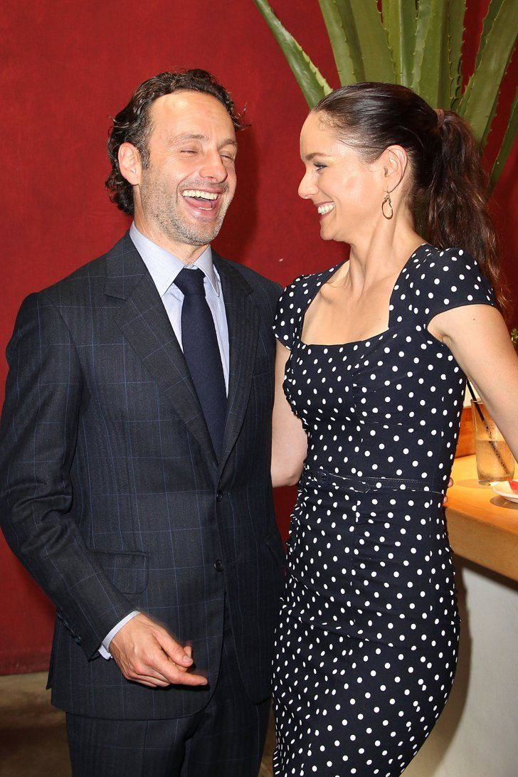 Pin for Later: The Walking Dead's Andrew Lincoln Is 100% Hunk With Sarah Wayne Callies