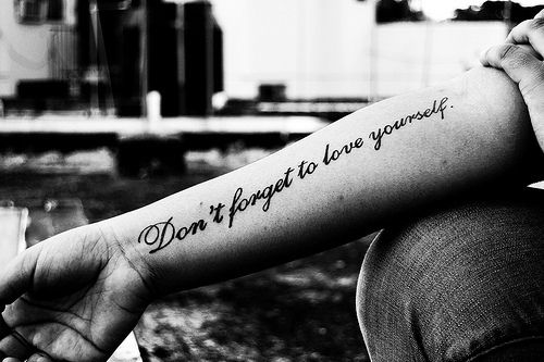 tattoo quotes | Tumblr...I love this.