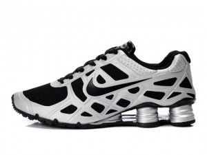 Buy originals nike shox turbo 12 for mens running shoes mesh sneakers black silver for sale