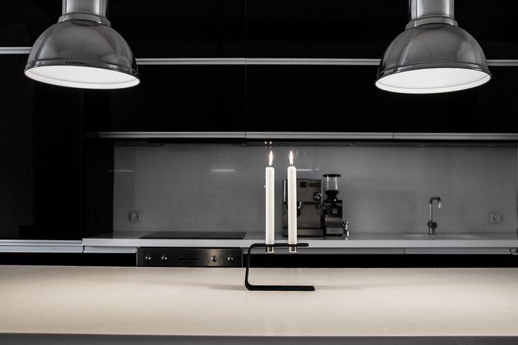 sein vinkel - industrial looking kitchen