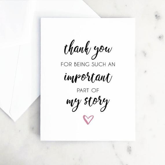 Appreciation Card Thank You Card Card For Teacher Thank Etsy In 2021 Teacher Thank You Cards Teacher Cards Appreciation Cards