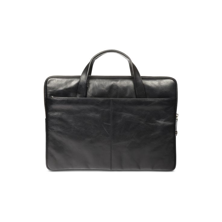 """Silkeborg"" is a very minimalistic and clean bag that will easily fit your PC or MacBook. Simply beautiful."