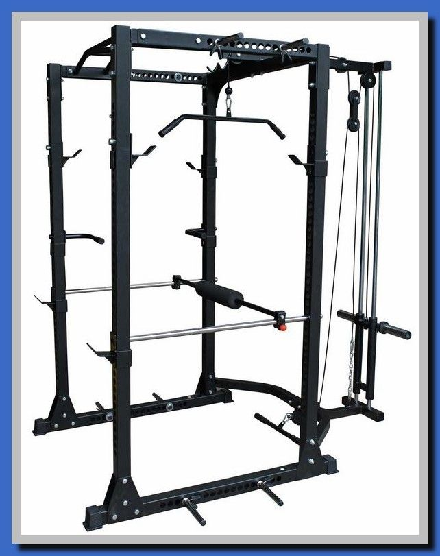 51 Reference Of Northern Lights Power Rack With Lat Pulldown At Home Gym Diy Home Gym Power Rack
