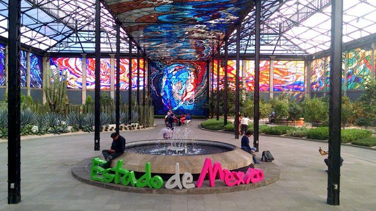 Jardín Botánico-Cosmovitral, Toluca, Estado de México.