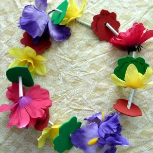 Make a Love Lei this Mother's Day!  #MyPerfectMothersDay