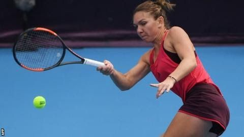 Simona Halep has reached two French Open finals but is yet to win a Grand Slam  Romanian  second seed Simona Halep recorded her first victory over Maria  Sharapova and advanced to the China Open quarter-finals with a 6-2 6-2  win.  The 26-year-old world number two in her eighth match with Russian ex-world number one Sharapova raced 4-1 ahead. She won in 72 minutes to reach her second China Open quarter-final. In  the last eight Halep will play the winner of the evening match between  Polish…