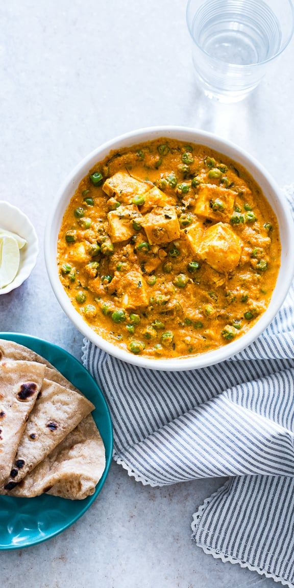 Indian food doesn't have to be difficult - this creamy matar paneer curry recipe…