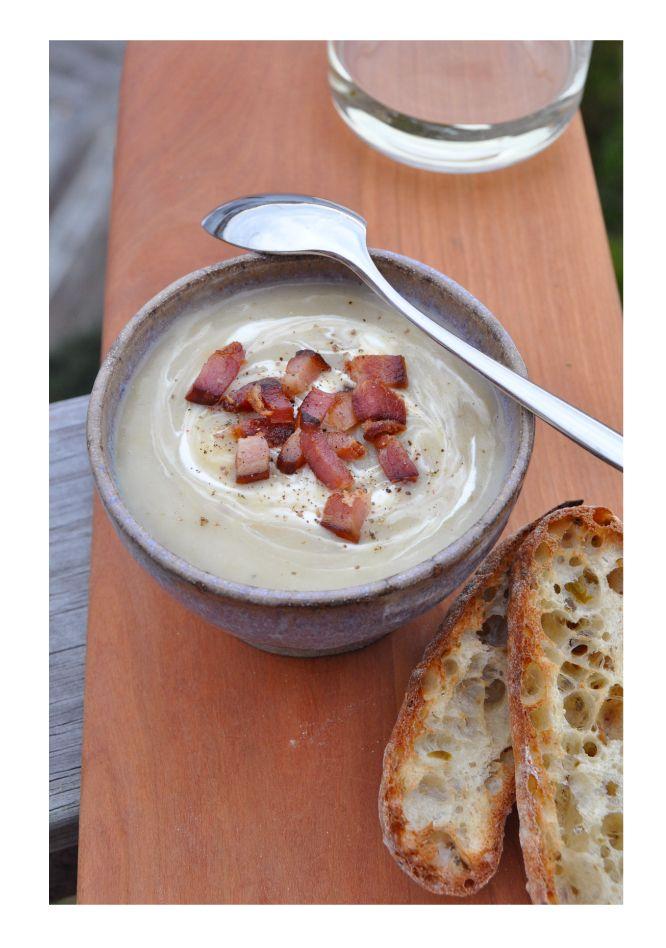 chatN'chow: Smokey Bacon Potato Leek Soup