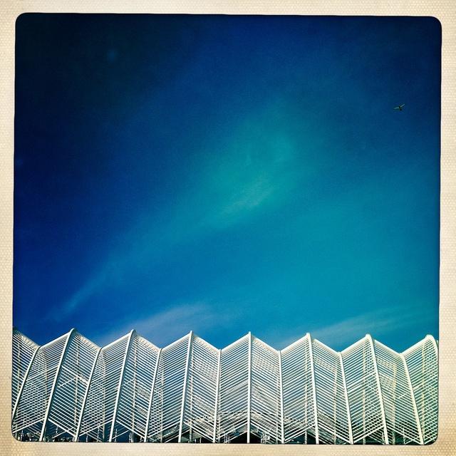 HipstaPrint by dimakk  OAKA Olympic stadium of Athens