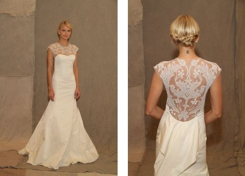 Top 12 Spring 2013 Wedding Gowns with Illusion Backs - Wedding Dresses