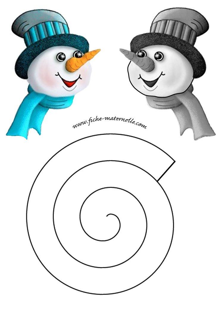 fabriquer bonhomme de neige