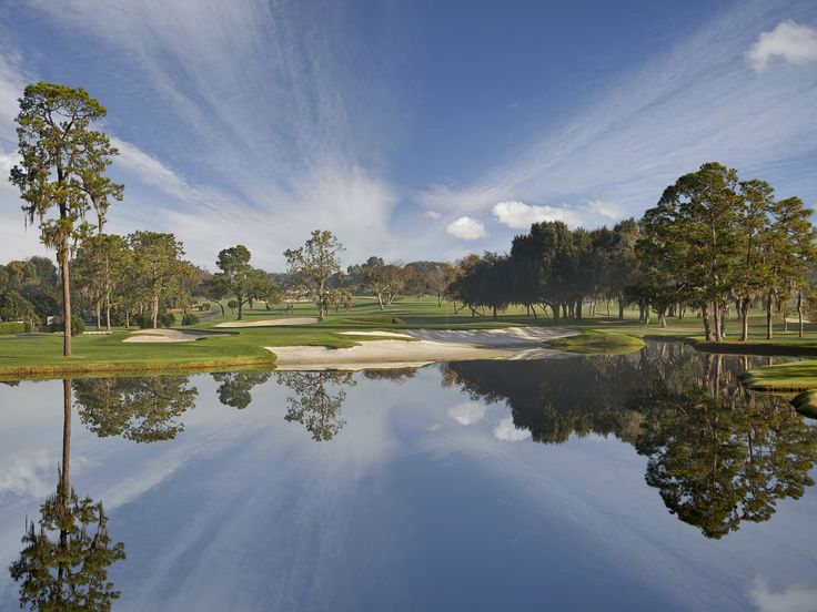 Bay Hill Golf Club - 17th hole. Home of The King... no not Elvis... Arnold Palmer.