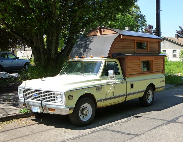truck campers | ... 1972 Chevrolet C30 Longhorn Custom Camper – Very Aptly Named Indeed