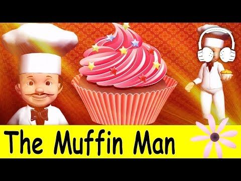The Muffin Man   Family Sing Along - Muffin Songs - YouTube