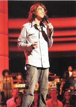 2007 Comic Images American Idol Season 6 #35 Sanjaya Malakar Front