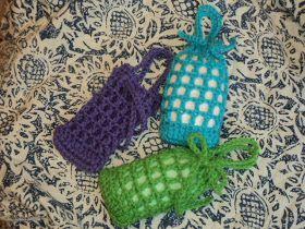 Cute Little Crafts: Free Pattern: Crochet Net Soap Saver and Body Scrubber
