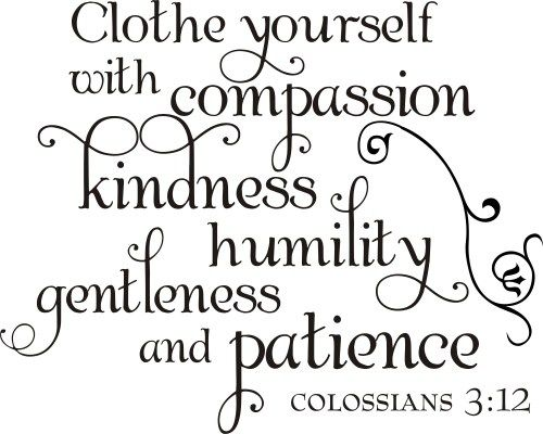 Image result for Colossians 3:12