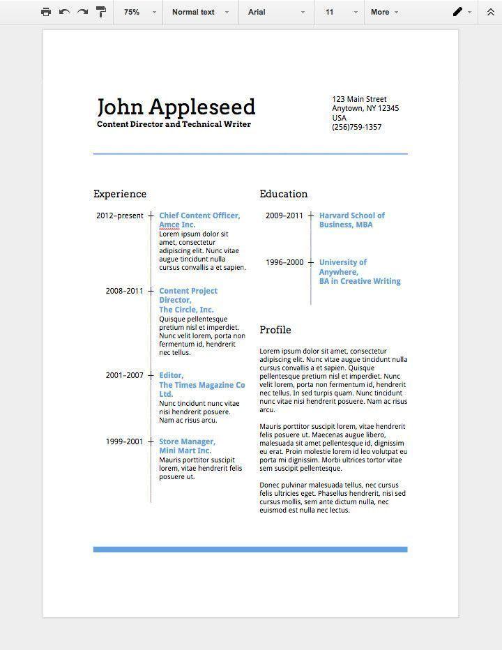 Resume Templates Google Drive Resume 2 Getjobb In 2020 Student Resume Template Job Resume Template Cover Letter Template Free