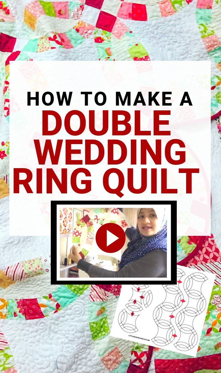 How to Make a Double Wedding Ring Quilt