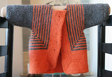 Baby Surprise Jacket - EZ pattern