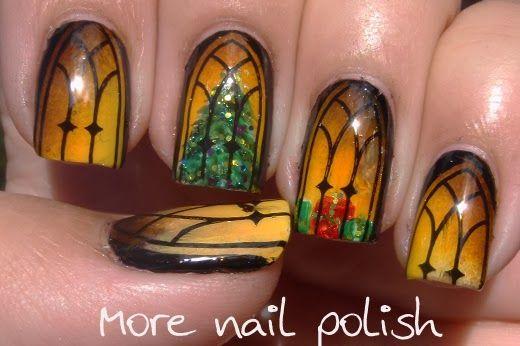 More Nail Polish: Nail Polish Canada - Holiday Nail Art Challenge - Holiday Memories