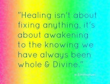 Healing heart quote via Carol's Country Sunshine on Facebook