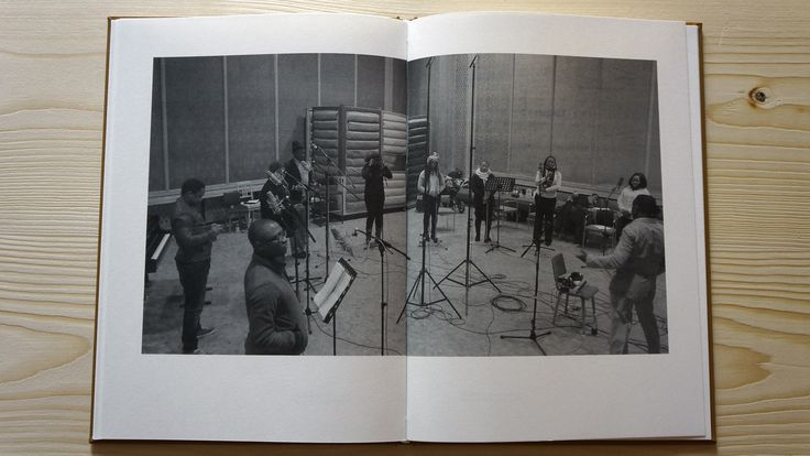 The Song of the Germans: The book that accompanied the installation, the singers in the recording session