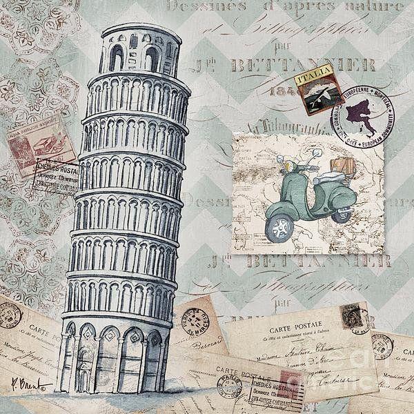 Bon Voyage Iii Print By Paul Brent