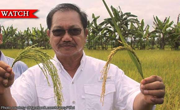 Secretary of Agriculture Manny Piñol: Greedy rice traders behind inflation warning