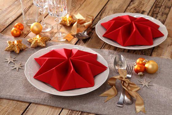 die besten 25 servietten falten stern ideen auf pinterest weihnachten servietten falten. Black Bedroom Furniture Sets. Home Design Ideas