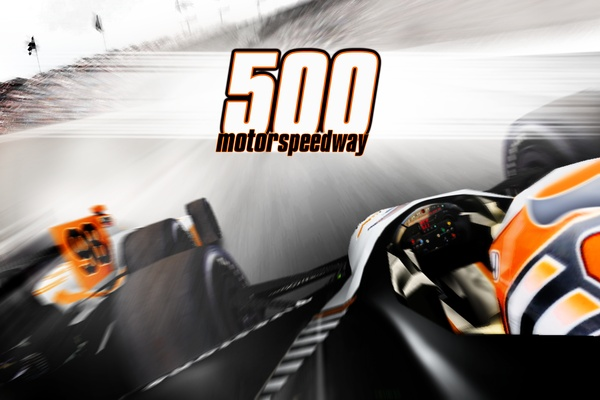 500 Miles - Indy Racing Sim    This is a newly released 500 Mile Racing Simulator for Indy Open Wheel race cars on the Apple iPhone and iPad. The description does not say Indianapolis 500 nor do the graphic simulate the surrounding Indy track but the track itself is very close to the Indianapolis 500.