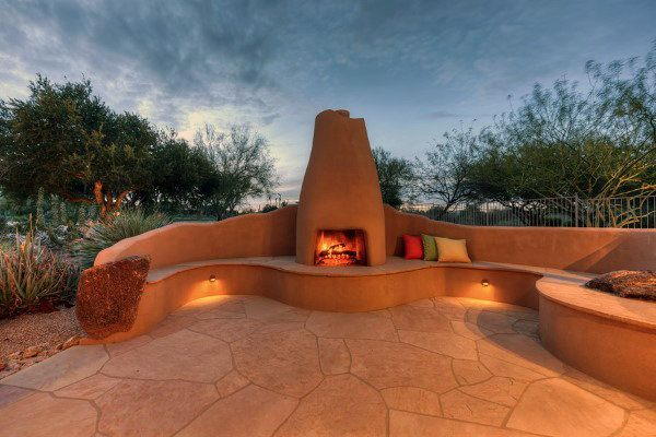 70 Outdoor Fireplace Designs For Men, Outdoor Fire Place