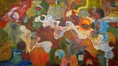 IV Composition.. Acrylic on canvas.1,40 X 2,55 meters(55,12 x 100,39inches). 2009. joaquinmoran© Composicion IV.Acrílico sobre tablero aglomerado 1,40 X 2,55 metros. Año 2009. joaquinmoran©